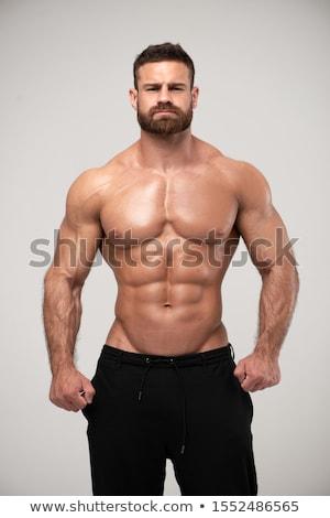 músculos · torso · humanismo · corpo · brasão · belo - foto stock © Tefi