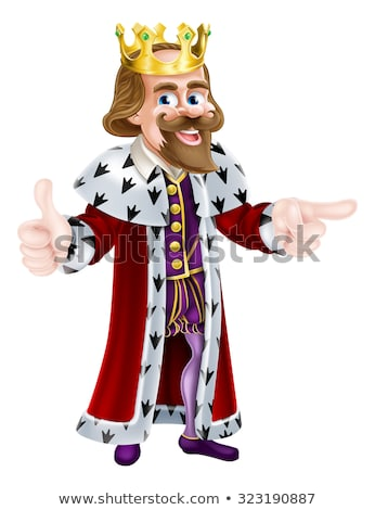king and other fairytale characters stock photo © colematt