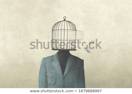 freedom cage concept stock photo © lightsource