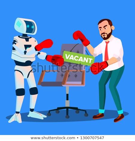 robótica · revelador · vetor · isométrica · ilustração · desenvolvedores - foto stock © pikepicture