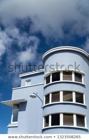 Decco Street Lamp Clouds Stock photo © bobkeenan