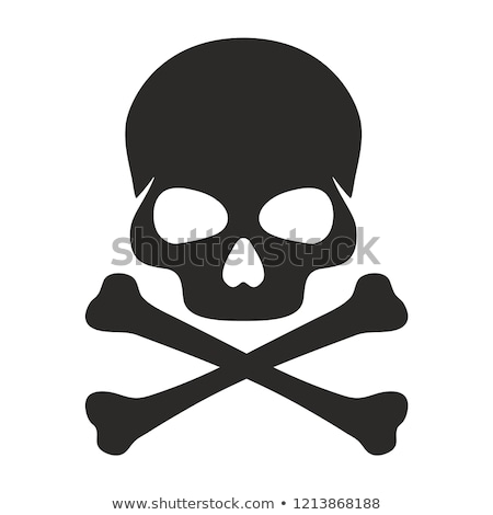 Skull and Crossbones Illustration Stock photo © Krisdog