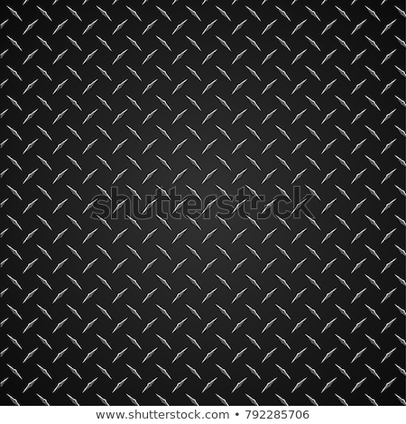 diamante · prato · metal · sem · costura - foto stock © jeff_hobrath