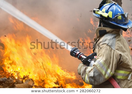 Firefighters battle Stock photo © 5xinc