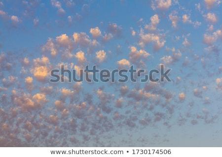 Chmura chmury krajobraz lata podróży japoński Zdjęcia stock © craig