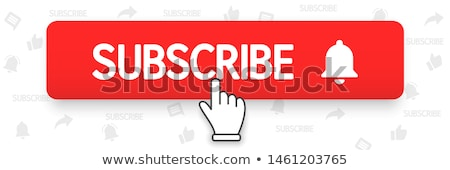 Gomb ikon videó csatorna bannerek appok Stock fotó © sonia_ai