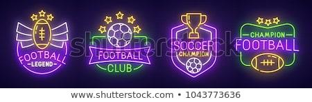 サッカー · ファン · ボール · 頭 · eps10 · 透明 - ストックフォト © anna_leni