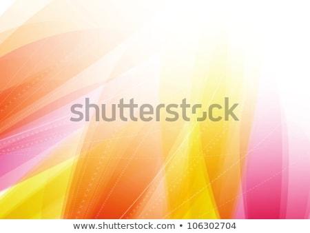 Abstract ondulato linee caldo colori texture Foto d'archivio © SArts