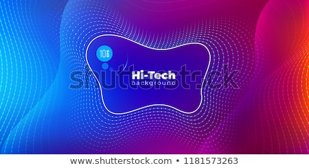 Abstract background Fluid Geometric design with liquids and shapes. Trendy vector for templates, car Stock photo © MarySan