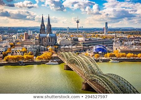 表示 · ドイツ · 歴史的 · センター · 川 - ストックフォト © borisb17
