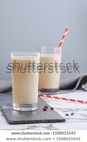 Mleka szkła butelki organiczny napój sklep Zdjęcia stock © robuart