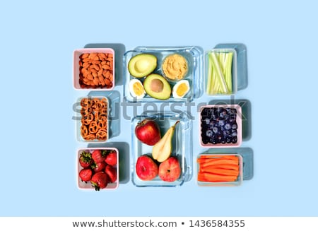 Meal And Food Prep Packed Stock photo © AndreyPopov