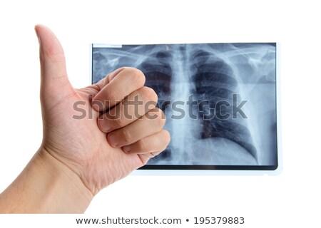 Médico pecho hospital vector Foto stock © robuart