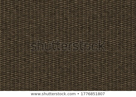 Stock photo: rattan weave