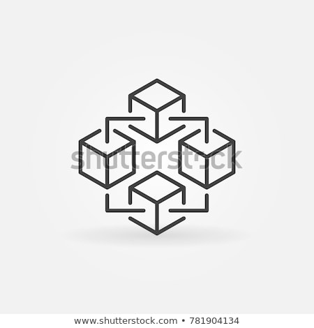 Icon structure Stock photo © zzve