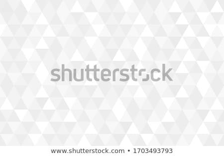 Triângulo retro geométrico papel projeto Foto stock © m_pavlov