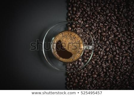 fincan · siyah · kahve · kahve · fasulye · başlık - stok fotoğraf © mizar_21984