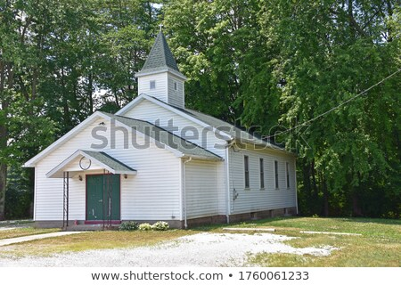 Igreja aldeia região buda páscoa Foto stock © mayboro