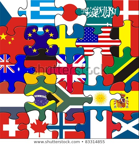 Argentina and Japan Flags in puzzle  Stock photo © Istanbul2009