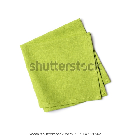 Green napkin Stock photo © Digifoodstock