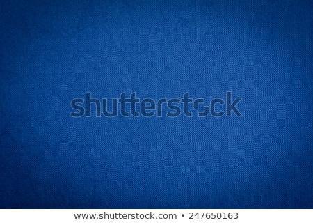 Blue Fabric Background Stock photo © derocz