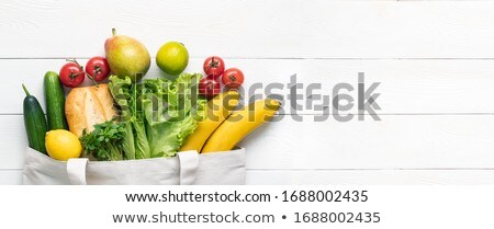 szeretet · vegan · étel · kártya · egészséges · étkezés · üdvözlőlap - stock fotó © cienpies