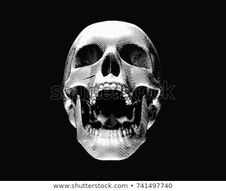 Ghost of Halloween Opened Mouth Isolated Vector Stock photo © robuart