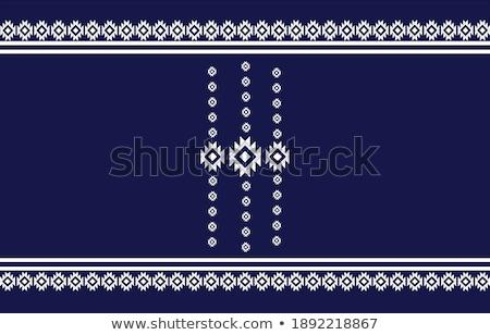 vektör · toplama · altın · dekoratif · kareler · bağbozumu - stok fotoğraf © blue-pen