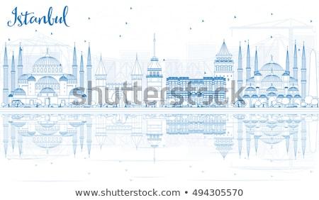 Mavi cami İstanbul Türkiye Stok fotoğraf © ShustrikS