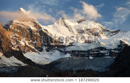 Himalaia alcance pôr do sol montanha natureza paisagem Foto stock © dmitry_rukhlenko
