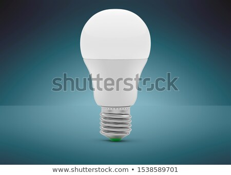 3d model of led bulb Stock photo © magraphics