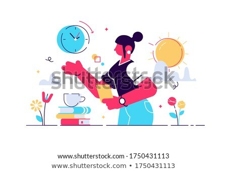 Menopause abstract concept vector illustration. Stock photo © RAStudio