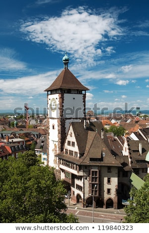 freiburg im breisgau at summer time stock photo © prill