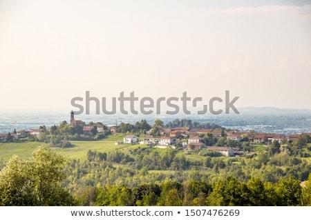 heuvel · landschap · panorama · heuvels · noordelijk - stockfoto © claudiodivizia
