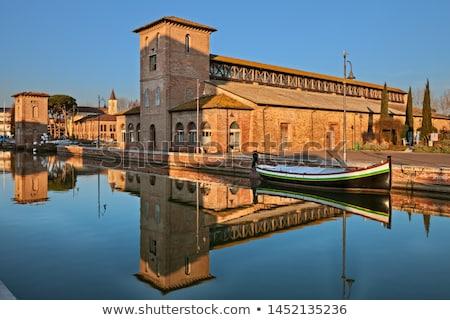 salt of Cervia in Italy Stock photo © sognolucido