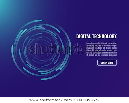 Kleurrijk 3D gegenereerde foto nooit stap Stockfoto © flipfine