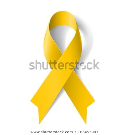 yellow ribbon stock photo © adrenalina