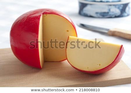 Edam cheeses Stock photo © Hofmeester