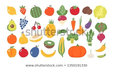 トマト オレンジ タマネギ 静物 食品 自然 ストックフォト © meinzahn