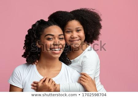 Ragazza madre donna albero amore Foto d'archivio © IS2
