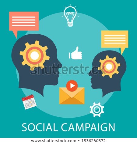 Promotion strategy concept vector illustration. Stock photo © RAStudio