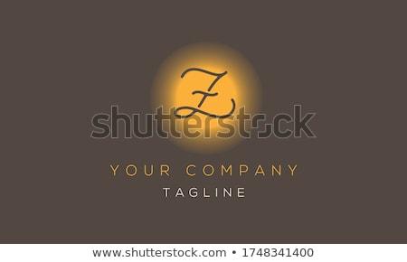 Levél logo logotípus vektor felirat ikon Stock fotó © blaskorizov