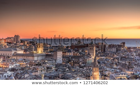 Genoa Cathedral in Italy Stock photo © boggy