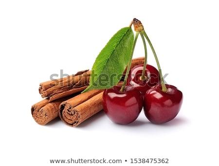 корицей Вишневое ресторан красный еды реклама Сток-фото © ConceptCafe