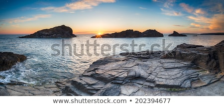 побережье · ночь · длительной · экспозиции · выстрел · небе · океана - Сток-фото © moses