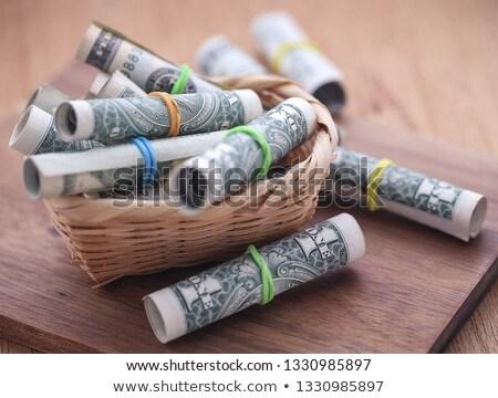 Stok fotoğraf: Dolar · gıda · ürün · dolar · kâğıt