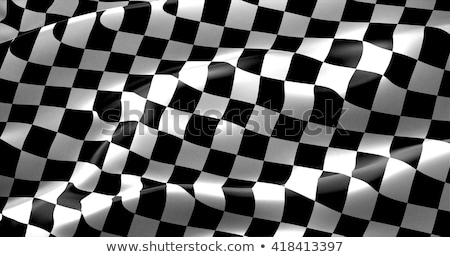 racing speed background with checkered flag stock photo © sarts