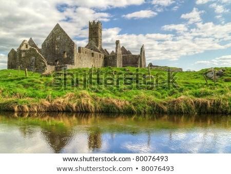 Ierland middeleeuwse noordwesten reizen steen architectuur Stockfoto © borisb17