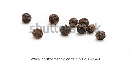 黒コショウ 暗い 背景 トウモロコシ 料理 ストックフォト © grafvision