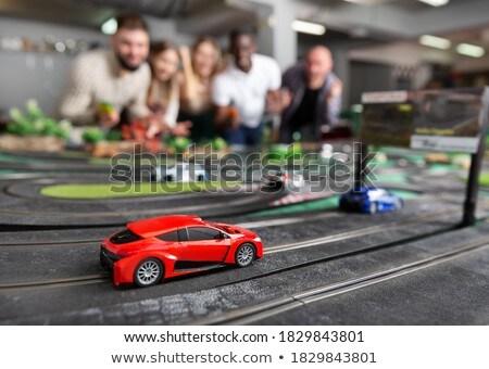 Rés autók kép játék autó versenyzés Stock fotó © kitch